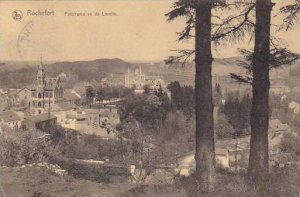 Belgium Rochefort Panorama vu de Lorette 1921