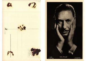 CPA Willy Birgel Verlag 3876/1 FILM STAR (594148)