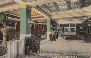 SALT LAKE CITY , Utah , 00-10s ; Hotel Selmloh , Lobby