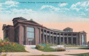 Washington Seattle Forestry Building University Of Washington