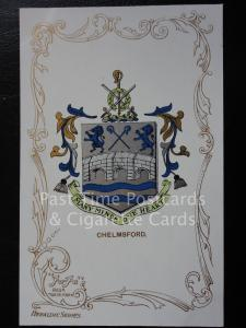 c1906 - CHELMSFORD - Heraldic Coat of Arms