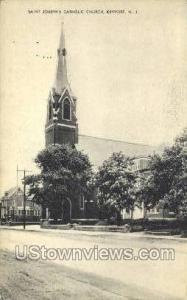 St Josephs Catholic Church  Keyport NJ Unused