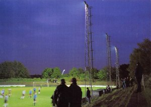 Non-League Football Ground Postcard, Tooting & Mitcham FC, Sand Lane, London