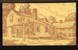 Sharon, New Hampshire/NH Postcard, Sharon Arts Center, Drawing, #1
