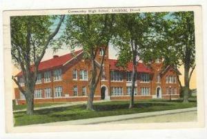 Community High School, Litchfield, Illinois, 1952 PU