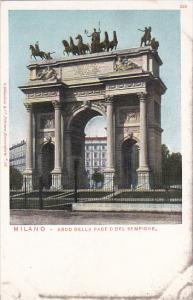 Italy Milano Arco Della Pace O Del Sempione