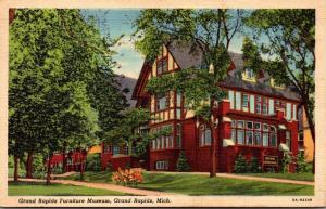 Michigan Grand Rapids Furniture Museum 1942 Curteich