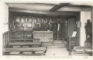 Hampshire Postcard - Chapel of The Blessed Virgin Mary, Bucklers Hard Ref 18538A