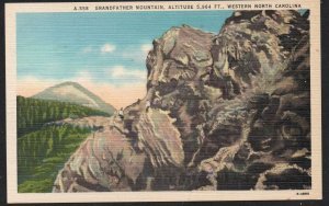 North Carolina colour PC Grandfather Mountain Western N.C.  unused