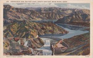 Idaho Boise River Arrow Rock Dam Curteich