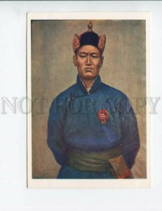d3154275 MONGOLIA Sukhbaatar military leader by Yadamsuren OLD