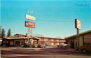 CA, Woodland, California, Knight's Inn Motel, Dexter Press No. 98045-C