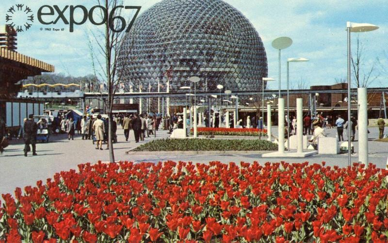 Canada - Quebec, Montreal. Expo '67, Pavilion of the United States