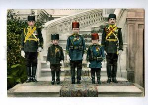 192042 TURKEY CONSTANTINOPLE Imperial Princes Vintage postcard