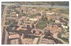 An Aerial View Of The University Of Saskatchewan Campus Looking West, Saskato...