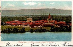 California Palo Alto Birds Eye View Leland Stanford Junior University 1905