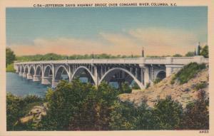 Jefferson Davis Highway Bridge , Columbia , South Carolina , 30-40s