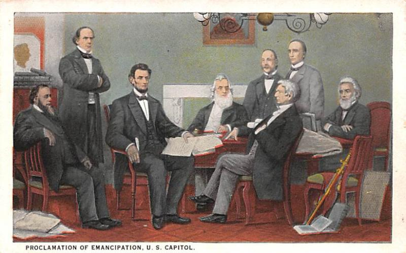 Post Card Old Vintage Antique Abe Lincoln, USA President Unused