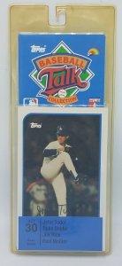 1989 Topps Baseball Talk Soundcard Collection #30 John Tudor Paul Molitor NOS