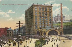 Union Railroad Station Pittsburg Pennsylvania 1910