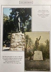 Mint South Africa Picture Postcard Cecil Rhodes Municipal Gardens Cape Town