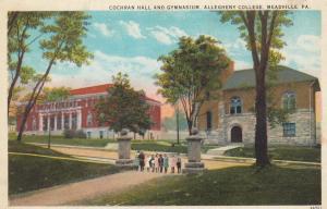 MEADSVILLE, Pennsylvania, PU-1927; Cochran Hall & Gymnasium, Allegheny College