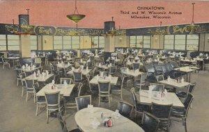 MILWAUKEE, Wisconsin, 1900-10s CHINATOWN Moy Toy Restaurant