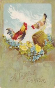 Easter With Chickens