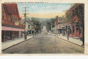 HIGHLANDS , New Jersey, 1908 ; Miller Street