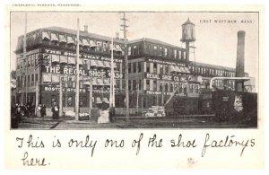 Massachusetts  East Whitman , Regal Shoe Co.