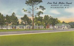 WILMINGTON , North Carolina , 30-40s ; Live Oak Motor Court