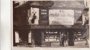 BR80893 the old curiosity shop real photo london  uk