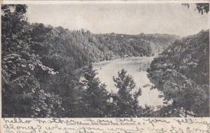 New York Rochester Scene On Lower Genesee River From Seneca Park