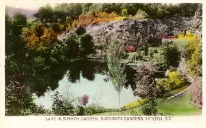 Canada - British Columbia, Victoria. Butchart's Gardens.   *RPPC