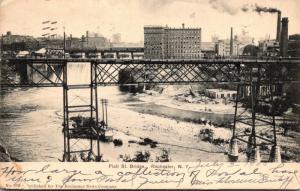 New York Rochester Platt Street Bridge 1905