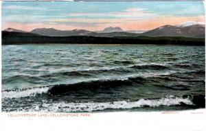 Haynes AUTOCHROME 1905/6, Yellowstone Lake, Yellowstone National Park