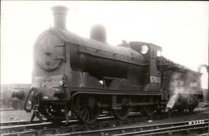 Train Railway Railroad Locomotive Engine British Railways 57603