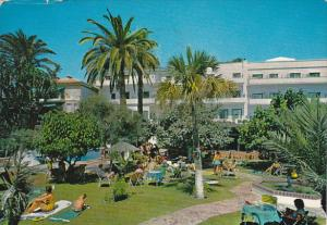 Spain Garden and Swimming Pool Hotel Emperatriz Malaga