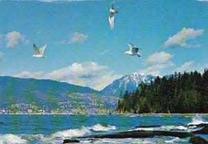 Canada English Bay Vancouver British Columbia