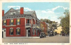 Madalin New York Hotel Morey Street View Antique Postcard K59804