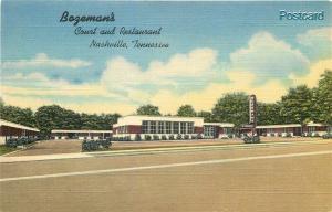 TN, Nashville, Tennessee, Bageman's Court & Restaurant, Curteich No. 8B-H718