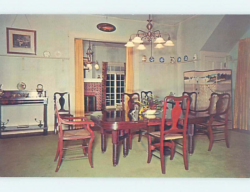 Unused Pre-1980 THOMAS EDISON DINING ROOM Fort Myers Florida FL W3790