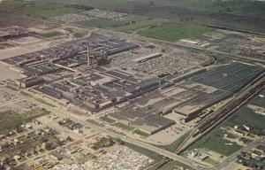 Bird´s Eye View of the South Plant of General Motors of Canada, Oshawa, Onta...