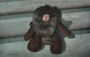 Eskimo Baby , AYPE , Alaska , 1909