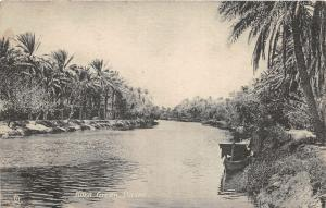 br104190 kora creek basra  real photo iraq