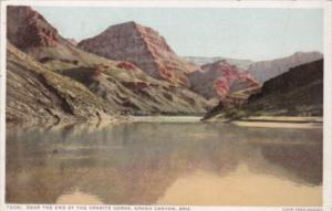 Fred Harvey Near The End Of The Granite Gorge Grand Canyon National Park Ariz...