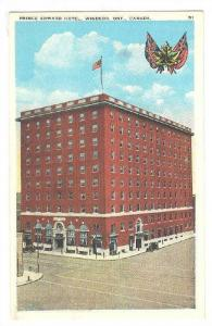 Prince Edward Hotel, Windsor, Ontario, Canada, 1910-1920s