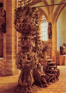 Freiberg Dom Tulpenkanzel um 1510 von Hans Witten Cathedral