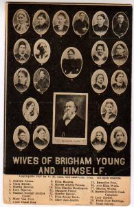 Wives of Brigham Young & Himself