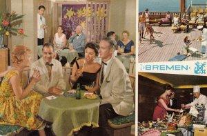 Ocean Liner T/S Bremen , 40-50s